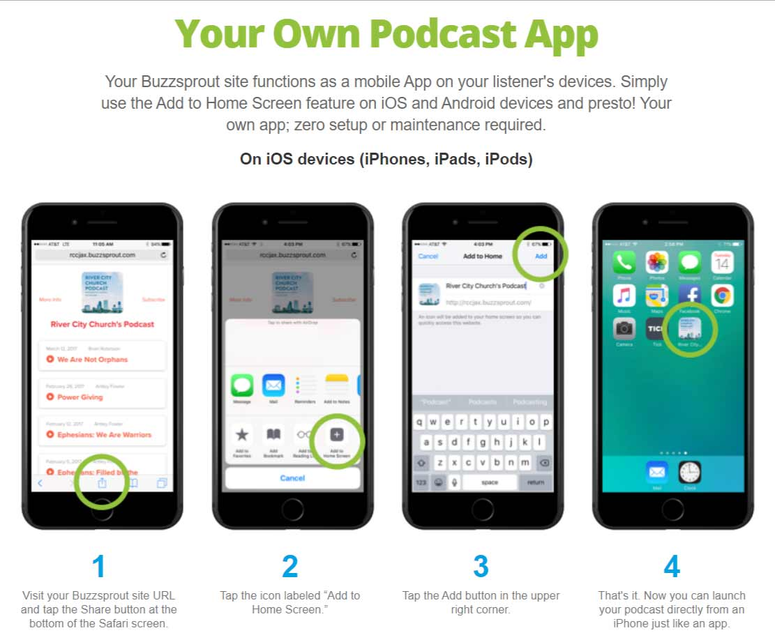 buzzsprout podcast app