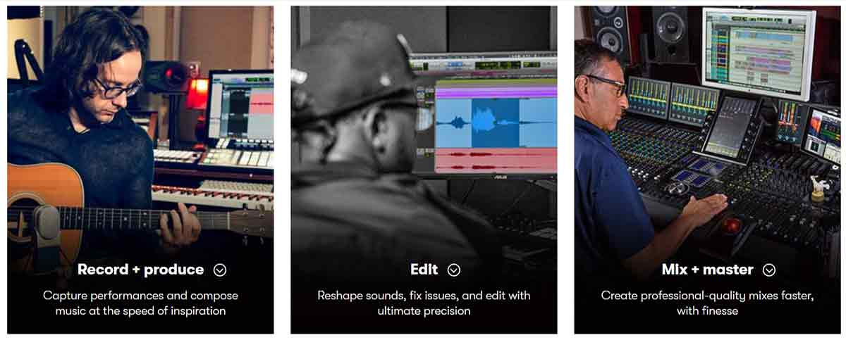 Avid Pro Tools Features